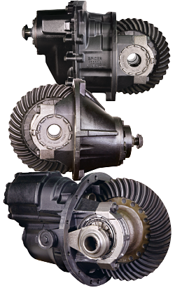 Quality Rebuilt Truck Differentials from; Eaton, Mack, Meritor, Rockwell, Spicer and Clark.